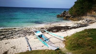 Banka sur la plage, Malapascua, Philippines